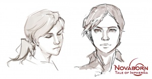 Inpherna Tawik - Sketch